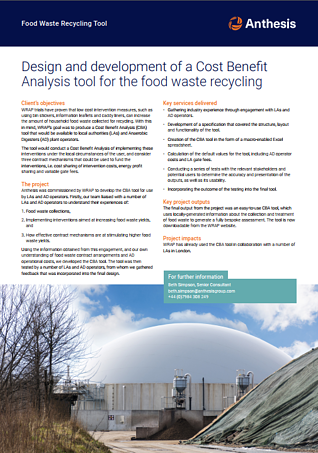 Cost benefit anaerobic digestion-1
