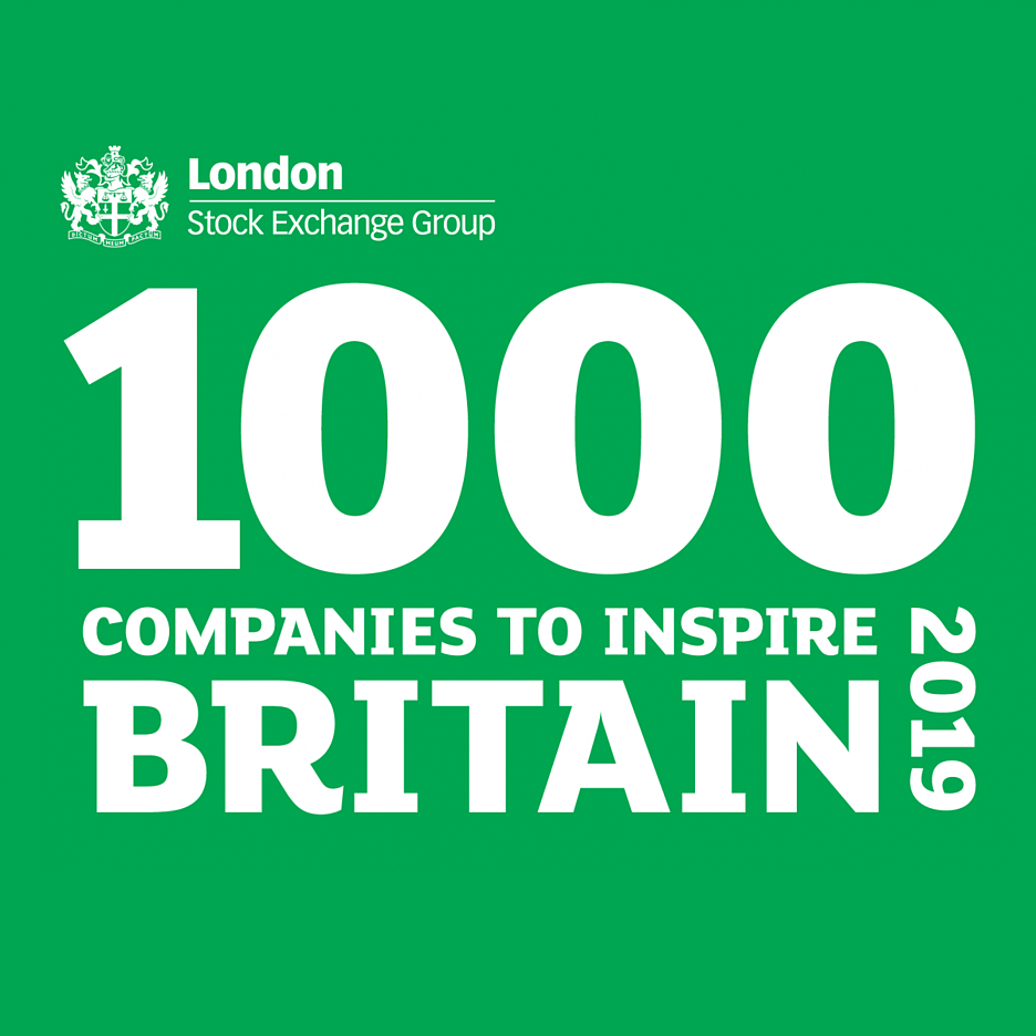 London Stock Exchange 1000 companies logo