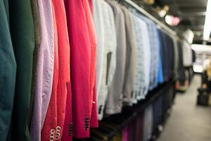Fashion store for male clothes