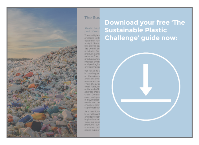 Sustainable Plastics guide button