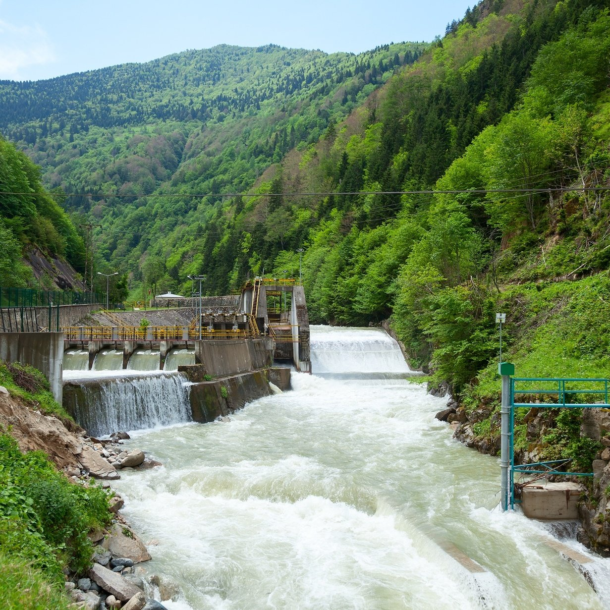 Small-hydro-power-plant-