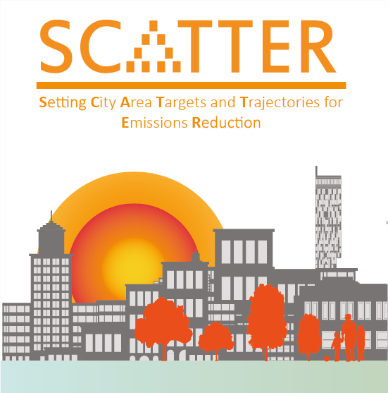 scatter logo and concept art